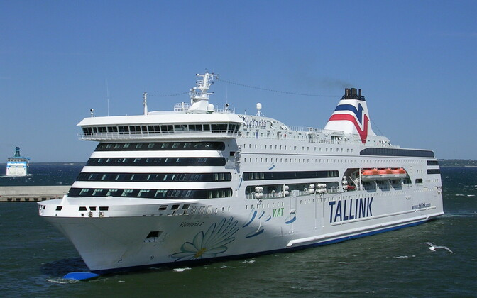 Круизное судно Tallink Victoria I
