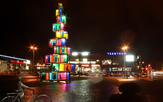 Rakvere Christmas tree 2015