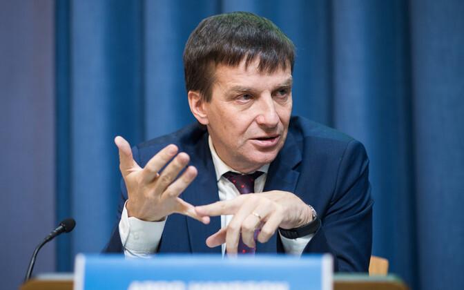 President of the Bank of Estonia Ardo Hansson.