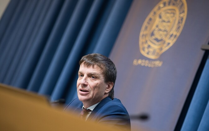 Bank of Estonia Governor Ardo Hansson.