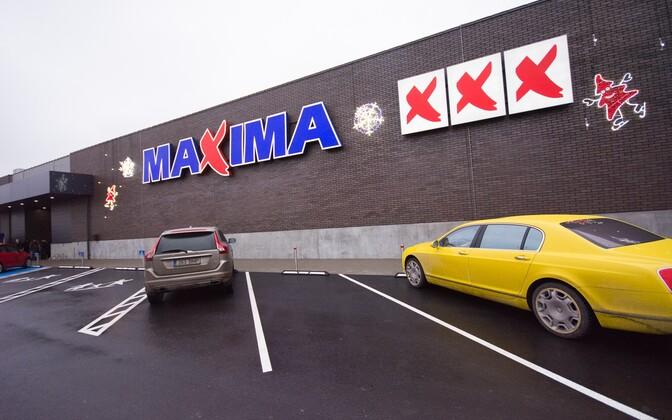 Maxima supermarket in Tallinn.