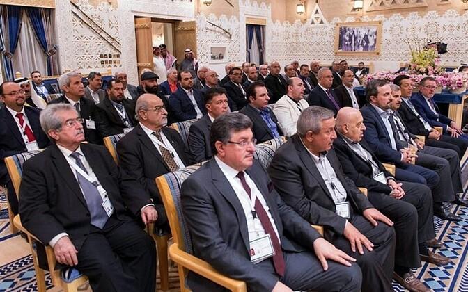Süüria opositsiooni kohtumine Riyadhis