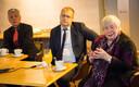 Europarlamendi saadikud Indrek Tarand, Urmas Paet ja Marju Lauristin.