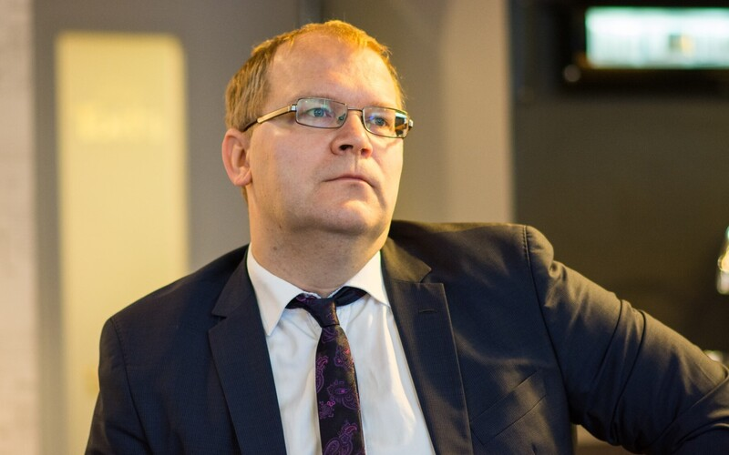 Estonian MEP Urmas Paet (Reform Party).