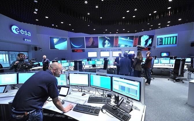 Saksamaal asuv ESOCi juhtimiskeskus.