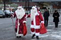 Santa Clause and Ded Moroz