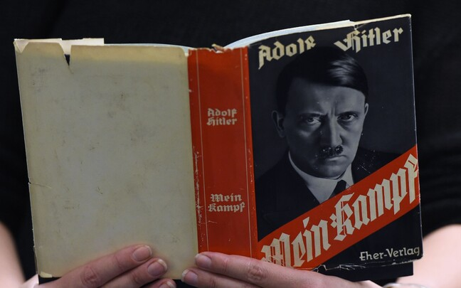 A Nazi era copy of Mein Kampf.