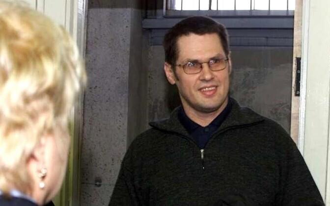 Аво Вийоль в суде в 2003 году.