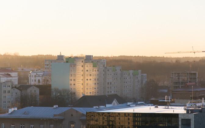 Tallinn in early morning.