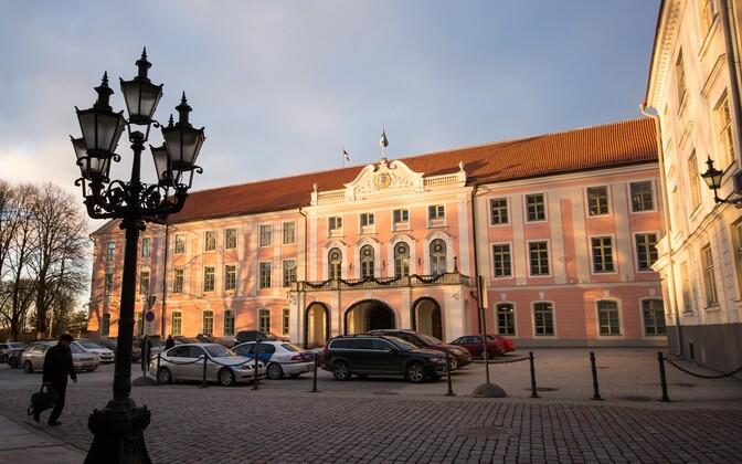 Toompea Castle, seat of the Riigikogu