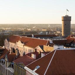 Toompea Castle, the seat of the Riigikogu.