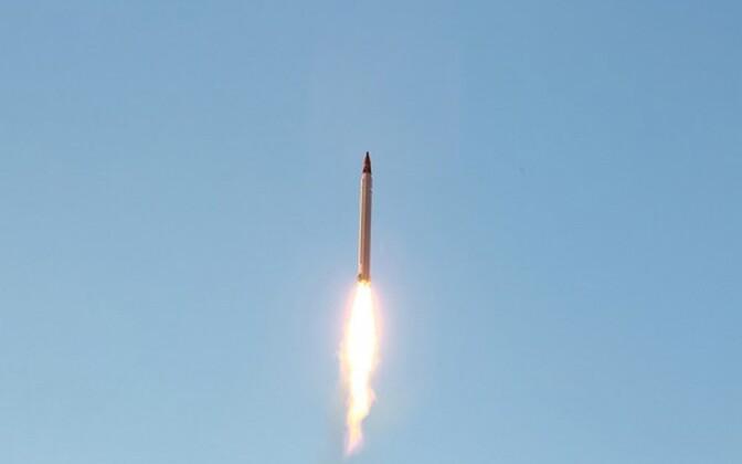 Iraani ballistilise raketi katsetus 2015. aastal