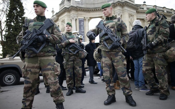 French soldiers in Paris. Photo is illustrative.