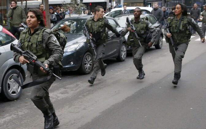 Iisraeli julgeolekuteenistuse töötajad