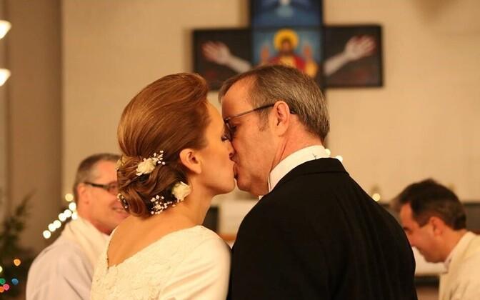 President Toomas Hendrik Ilvese ja Ieva Ilvese pulmad