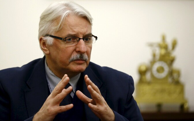 Poola välisminister Witold Waszczykowski