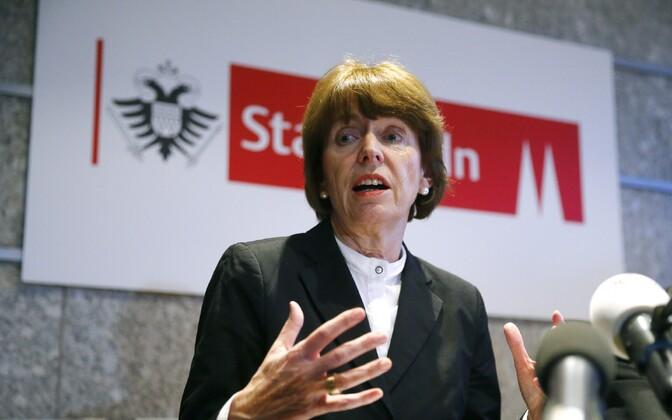Kölni linnapea Henriette Reker.