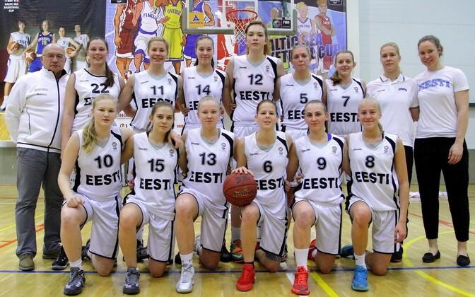 Eesti U-18 naiste korvpallikoondis