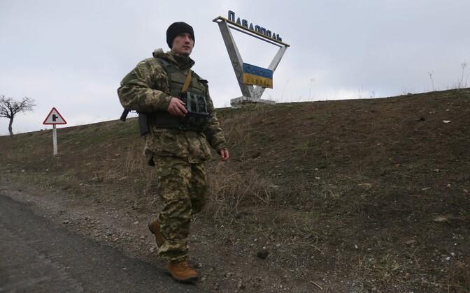 Ukraina sõdur Donetski oblastis