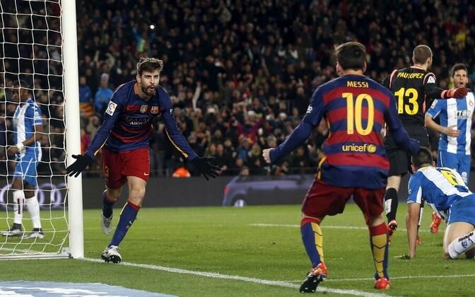 Gerard Pique ja Lionel Messi