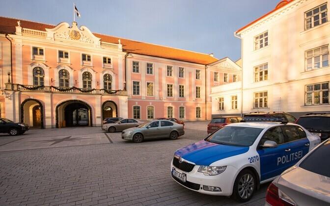 Parliament building in Toompea Castle