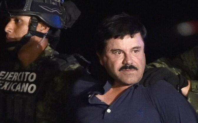 Наркобарон Хоакин Гусман по прозвищу Эль Чапо (Коротышка).