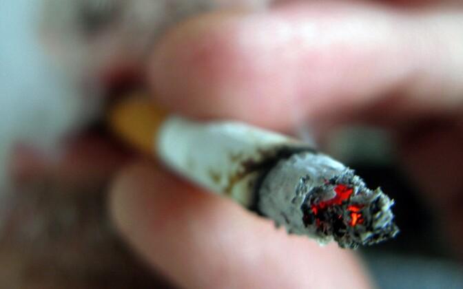 Сигарета. Иллюстративная фотография.