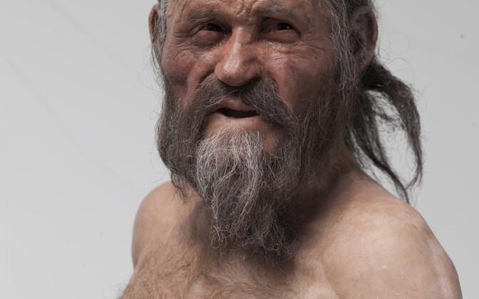 Ötzi kunstniku nägemuses