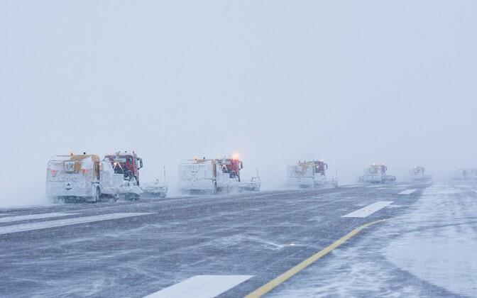 Снегоуборочная техника. Иллюстративная фотография.