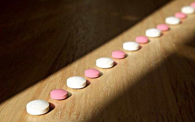 Таблетки экстази.