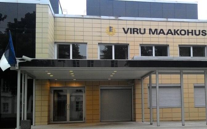 Здание Вируского уездного суда в Нарве.