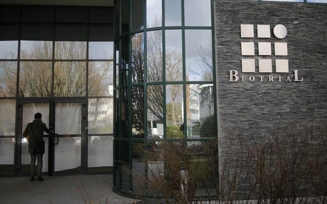Biotriali laborihoone Rennes'is.