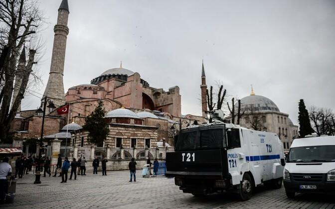 Türgi politsei. Pilt on illustreeriv.