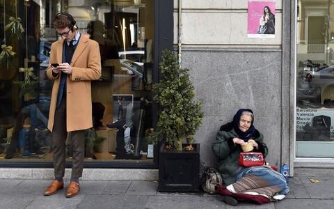 Lõhe vaeste ja rikaste vahel suureneb.