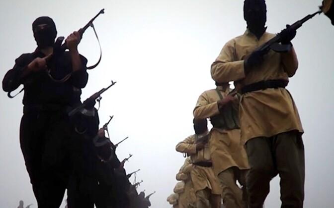 Äärmusrühmituse ISIS võitlejad, arhiivifoto.