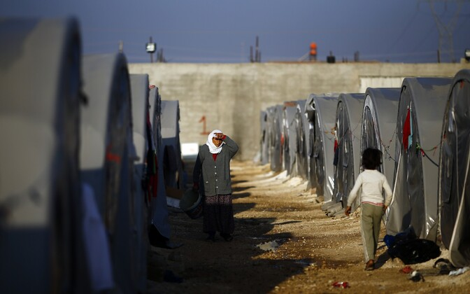 Põgenikelaager Türgis Suruci linna lähistel