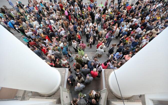 Tartu Ülikooli tudengid.
