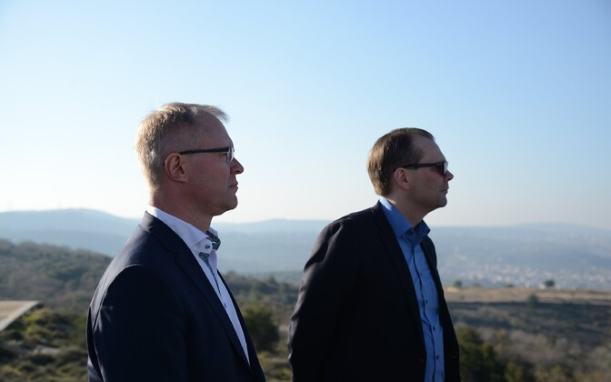 Hannes Hanso and Jussi Niinistö in Lebanon