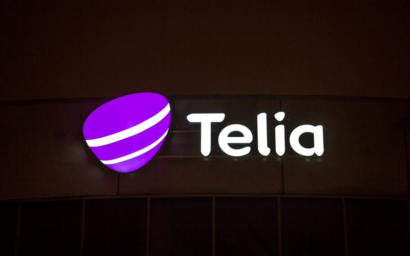 Telia recently replaced EMT and Elion branding