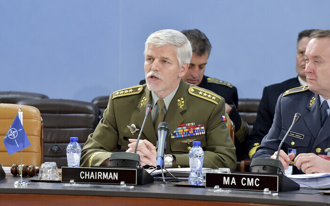 NATO sõjalise komitee juht, Tšehhi armeekindral Petr Pavel.
