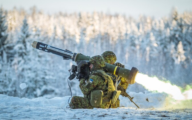 Javelin live fire exercise.