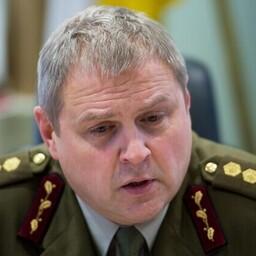 Командующий Силами обороны Эстонии Рихо Террас.