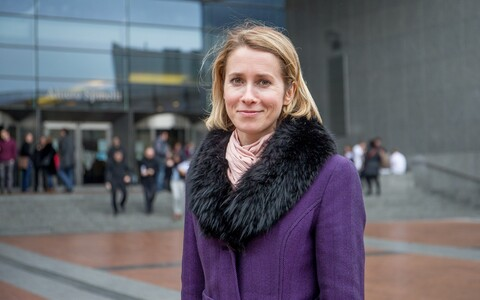 MEP Kaja Kallas (Reform/ALDE) in Brussels.