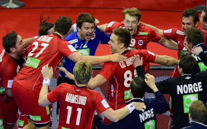Norra käsipallimeeskond jõudis EM-il esimest korda poolfinaali.