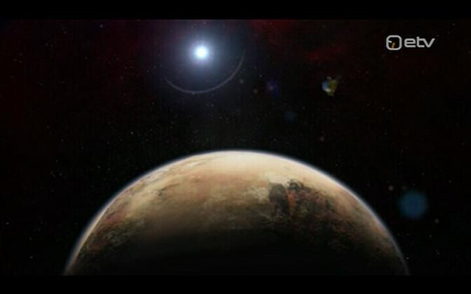 Planeet X kunstniku nägemuses.