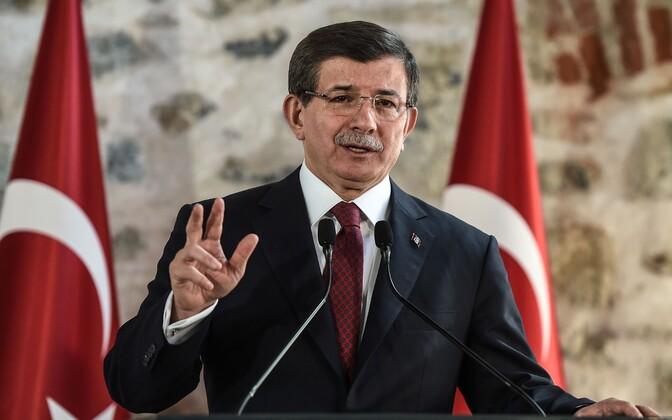 Türgi endine peaminister Ahmet Davutoglu