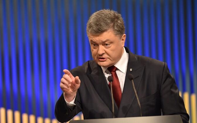 Ukraina president Petro Porošenko