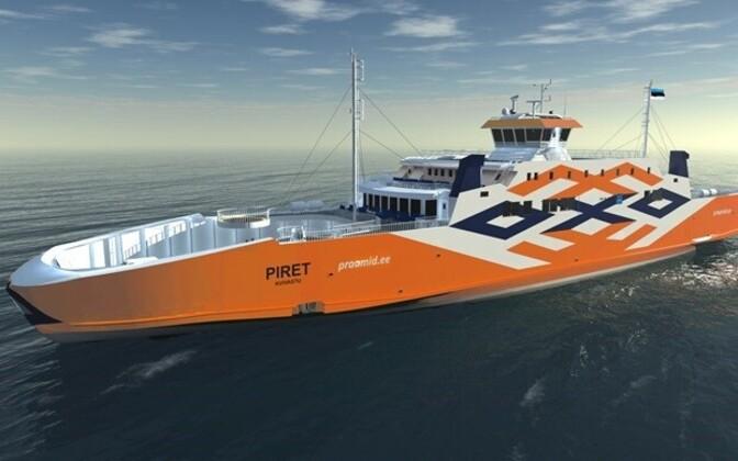 Uus parvlaev Piret