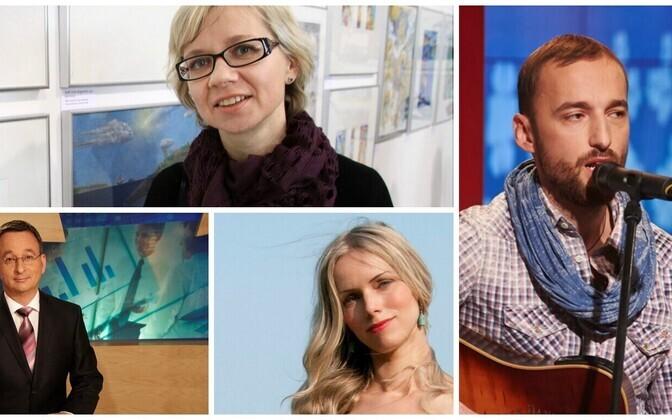 Piret Raud, Margus Saar, Kristiina Ehin, Märt Avandi - just a few of the recipients of this year's state honors