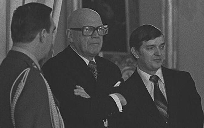 Kekkonen ja Väyrynen 1970. aastatel